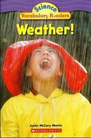 Weather! Science Vocabulary Readers