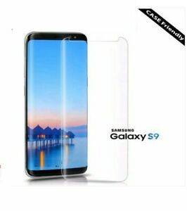 Premium Quality 3D Curved Tempered Glass Screen Protector for Samsung S9 CLEAR