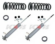 Mercedes-Benz W116 450SEL 73-80 Rear Shocks Springs Shims Suspension KIT Premium