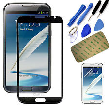 Replacement Screen Glass Lens+Tool Kit For Samsung Galaxy Note2 II N7100 N7105