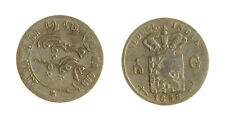 s1170_274) NETHERLANDS INDIES - INDIE OLANDESI 1/10 GULDEN  AG 1858