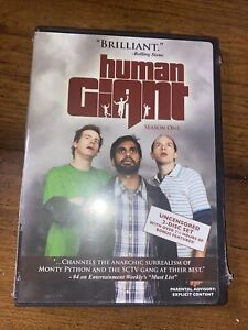Human Giant - The Complete First Season (DVD, 2008) NEW & SEALED
