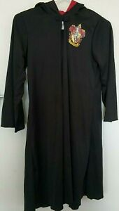RUBIE'S Harry Potter Gryffindor Halloween Hoodie Robe Costume Fancy Dress Sz 9+