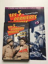 LES 5 DERNIERES MINUTES .. DVD N°5 + FASCICULE ... RAYMOND SOUPLEX