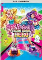 Barbie: Video Game Hero (DVD, Digital HD w/ Slipcover) Ships within 12 hours!!!