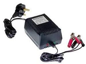 RE1A12 - 12v 1.0Amp Lead Acid Battery Charger for 12v 4Ah SLA Batteries upward