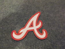 MLB ATLANTA BRAVES 4 X 4 1/2 INCH IRON ON PATCH COOL!