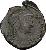 Constans Gay Emperor Constantine the Great son Roman Coin Two Victories i35640