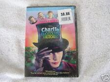 Charlie and the Chocolate Factory (2005, DVD) Sealed