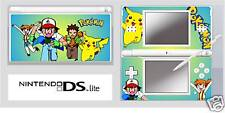 Nintendo DS or DS Lite POKEMON Vinyl Skin Sticker Wrap