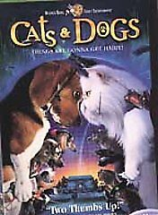 Cats & Dogs (DVD, 2001, Full Frame Version)
