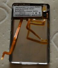 iPod Classic 6th 80gb Back cover+headphone jack+battery assymbly