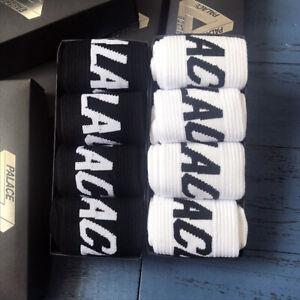 Palace 4 Paar Baumwolle Socken Strümpfe Herrensocken Komfort Sport Freizeit