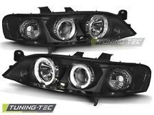 Headlights For OPEL VECTRA B 11.95-12.98 ANGEL EYES BLACK