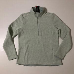 Under Armour Women's Wintersweet 2.0 LS Half Zip Pullover Sz L 1316287 189
