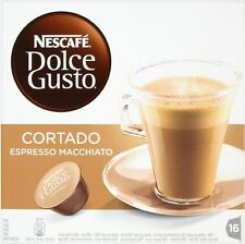 Nescafe Dolce Gusto Cortado Espresso Macchiato (6x16 Pods)