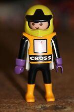 PLAYMOBIL - personnage-HOMME Pilote moto cross rallye bmx supercross trial vtt
