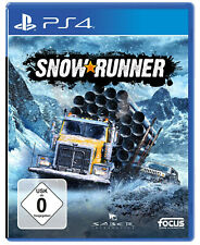 Snowrunner: Standard Edition , PS4 Race Game , Neu Ovp