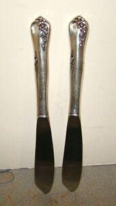 Oneida Sterling Engagement 2 Master Butter Knives