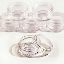 5g/5 мл ремесло кувшины/горшки с прозрачными крышками для путешествий образцы блестки косметика ОДК