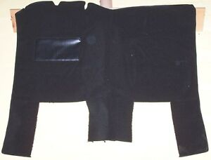 FORD PICKUP 73-79 HIGH HUMP BLACK LOOP FRONT W/SIDE EXTENSION CARPET