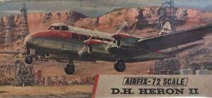 Vintage Airfix De Havilland Heron II