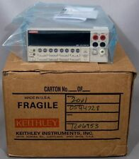 Keithley 2001 7-1/2 Digit Multimeter Multi Meter w/Cal