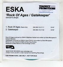 (GD305) Eska, Rock Of Ages / Gatekeeper - 2015 DJ CD