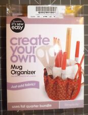 Simplicity Sewing Pattern & Kit to make Coffee Mug Organizer - Just Add Fabric!