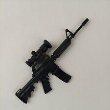 "1/6 Scale M4 M16 Assault Rifle Weapon For 12"" Action Figures GI Joe BBI 21st"