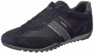Geox Respira Herren U Wells A Low Top Sneaker Slipper Halbschuhe U82T5A Navy