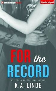 The Record: For the Record 3 by K. A. Linde (2014, CD, Unabridged) 5