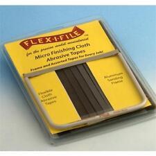 Flex-i-file 9 Micro acabado Cintas & Marco De Aluminio 15129