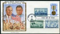 UNITED STATES COLORANO  1991  DESERT STORM DESERT SHIELD COMBO  FIRST DAY  COVER