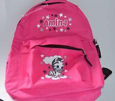 Rucksack mit Namen Kinder Kinderrucksack Kindergartentasche Tasche Zebra Mädchen