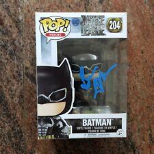Ben Affleck signed Autographed FUNKO POP Justice League Batman BAS Beckett COA