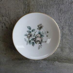 Vintage Royal Doulton Rose Elegans Small Butter Dish  Pin dish TC1010 Flowers