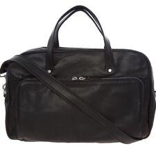 MAISON MARTIN MARGIELA Leather Weekend Bag - Black