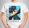 Dan TDM Kids Personalised T-Shirt Girls Boys Gamers Children Tee