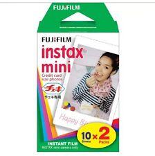 SELLER AWAY!!!!!! Fujifilm Instax Mini Film for Fujifilm 8 7s & Mini 90 20 Shots