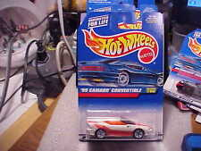 Hot Wheels Collector #796 '95 Camaro Convertible with White 5 Spoke Wheels
