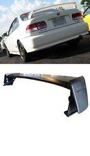 FOR Honda Civic EK 96-00 2/4dr JDM Mugen Style Rear Wing Spoiler Unpaint plastic