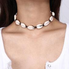 Boho Festival Beach Holiday Shell Seashells Choker Necklace Women Lady Jewellery