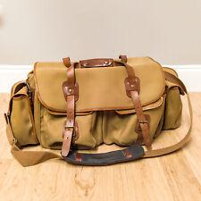 Billingham 550 Camera Bag Khaki with Brown Leather Trim