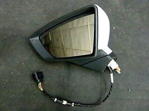 Original Seat Leon 5F Cupra Außenspiegel Links L0K1 Oryxweiß 5F1857507