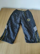 Mens Everlast Shorts Size Small Black and Gold Bronx New York MMA Fight Combat