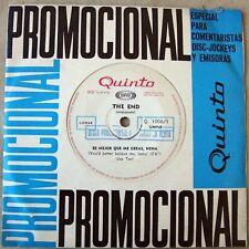 "THE END 7"" PROMO UK Garage PSYCH Mod FREAKBEAT 60s Bill Wyman ROLLING STONES"