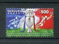 Armenia 2016 MNH UEFA Euro 2016 Football Championship 1v Set Soccer Stamps