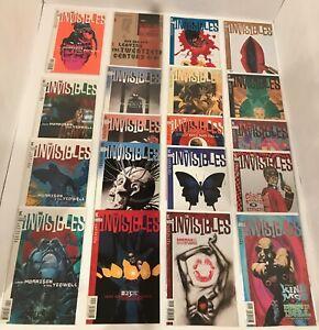 47 INVISIBLES V1 #1-25 / V2 #1-22/ V3 #1-12 COMPLETE SET (-12)  MORRISON DC 1994
