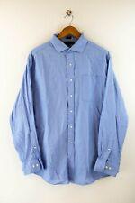 Tommy Hilfiger Slim Fit Herren Hemd Gr. 34-35 / 17 Langarm Hellblau Shirt